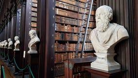 Vieille bibliothèque d'Athènes Image libre de droits