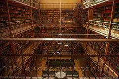 Vieille bibliothèque de Rijksmuseum, Amsterdam Photographie stock libre de droits