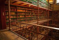 Vieille bibliothèque de Rijksmuseum, Amsterdam Photographie stock