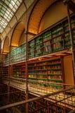 Vieille bibliothèque de Rijksmuseum, Amsterdam Images stock