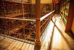 Vieille bibliothèque de Rijksmuseum, Amsterdam Image libre de droits