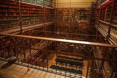 Vieille bibliothèque de Rijksmuseum, Amsterdam Photo stock