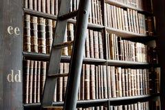 Vieille bibliothèque, université de trinité, Dublin, Irlande Images libres de droits
