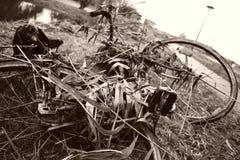 Vieille bicyclette Photographie stock libre de droits