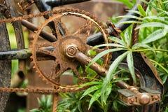 Vieille bicyclette rouillée image libre de droits