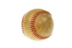 Vieille bille de base-ball Images stock