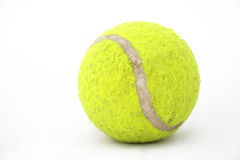 Vieille bille de tennis Photographie stock libre de droits