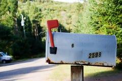 Vieille boîte aux lettres Photo stock
