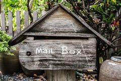 Vieille boîte aux lettres Photographie stock libre de droits