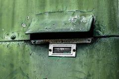 Vieille boîte aux lettres Photo libre de droits