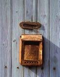 Vieille boîte de lettre rouillée photos libres de droits