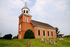 Vieille Bohême église de 1709 Photographie stock