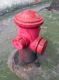 Vieille bouche d'incendie Image stock