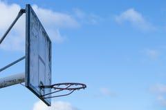 Vieille boucle de basket-ball photographie stock libre de droits