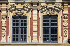 Vieille Bourse Architecture in Lille Royalty Free Stock Images