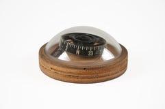 Vieille boussole de steampunk de vintage Photographie stock