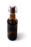 Vieille bouteille à bière Image stock