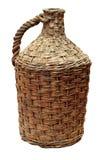 Vieille bouteille de vin traditionnelle Images stock