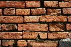 Vieille brique rouge Images stock