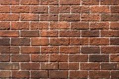 Vieille brique rouge pour le fond Photographie stock libre de droits