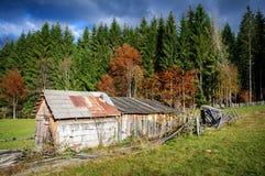 Vieille cabane Photographie stock