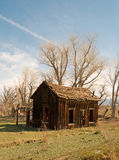 Vieille cabine Image libre de droits