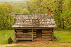 Vieille cabine de logarithme naturel Photo libre de droits