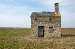 Vieille cabine française de vigne Photos libres de droits
