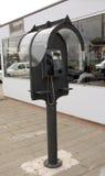 Vieille cabine téléphonique publique photo libre de droits