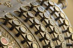 Vieille caisse comptable Images libres de droits
