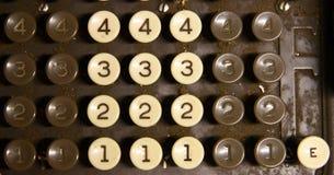 Vieille caisse comptable Images stock