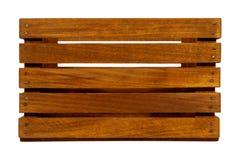 Vieille caisse en bois Image stock