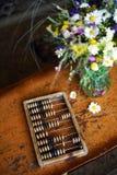 Vieille calculatrice Photo stock