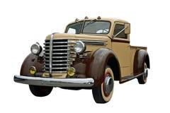 Vieille camionnette de livraison Images libres de droits