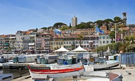 Vieille Cannes, France Photographie stock