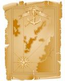 Vieille carte Photo stock