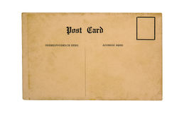 Vieille carte postale photo libre de droits