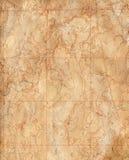 Vieille carte topographique (fond d'expédition) Image stock