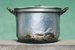 Vieille casserole Photo stock