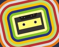 Vieille cassette illustration de vecteur