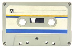 Vieille cassette sonore images stock