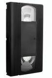 Vieille cassette vidéo sans étiquette Photos libres de droits