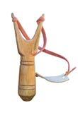 Vieille catapulte en bois images stock