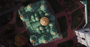 Vieille cathédrale dans Kyiv banque de vidéos