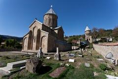 Vieille cathédrale dans Mtskheta. Image stock