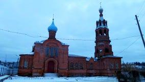 Vieille cathédrale de croyants Photographie stock