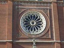 Vieille cathédrale de St Peter dans Djakovo, Croatie Photographie stock libre de droits