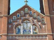 Vieille cathédrale de St Peter dans Djakovo, Croatie Image libre de droits