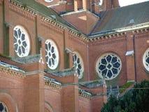 Vieille cathédrale de St Peter dans Djakovo, Croatie Photo stock