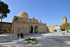 Vieille cathédrale de Vank d'Arménien, Iran Images libres de droits